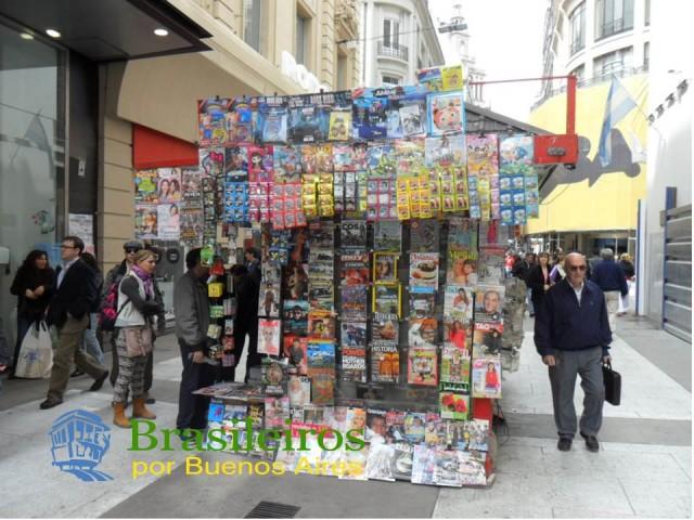 Banca de Jornais, calle Florida, Buenos Aires