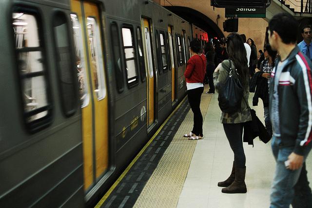 Metrô de Buenos Aires (Foto: Gabriel Gama)