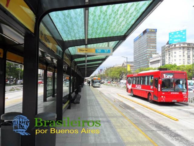 Metrobus, Ônibus de Buenos Aires