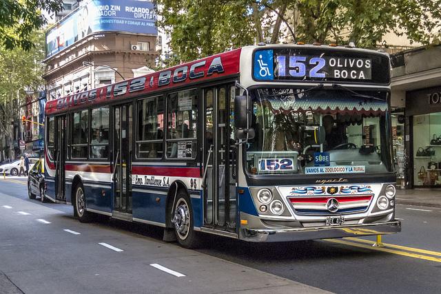 Ônibus 152, Buenos Aires (Foto: Barcex)