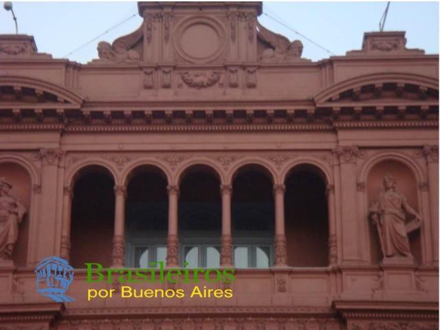Sacada da Casa Rosada, Plaza de Mayo, Buenos Aires