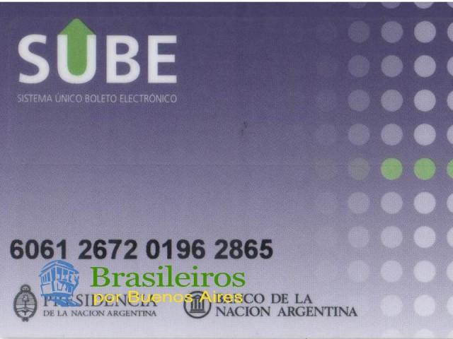 Cartão SUBE, características e costumes de Buenos Aires