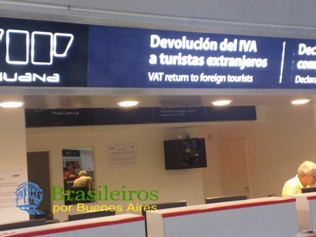 Devolução do imposto IVA, Buenos Aires