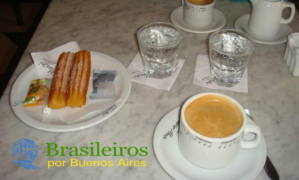 Café com churros, cafezinho de Buenos Aires