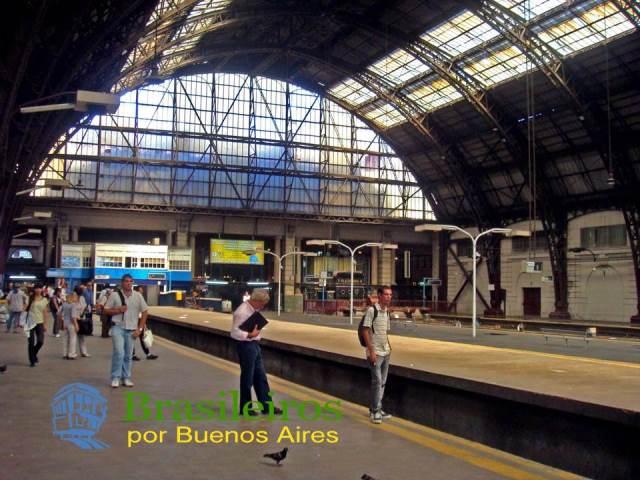 Estação de Retiro, trens de Buenos Aires