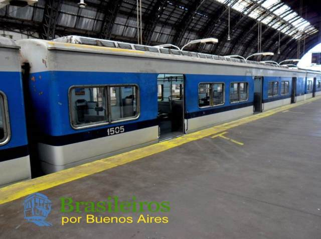 Trem Bartolomé Mitre, trens de Buenos Aires