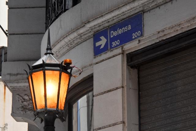 Calle Defensa, Bairro de San Telmo, Buenos Aires