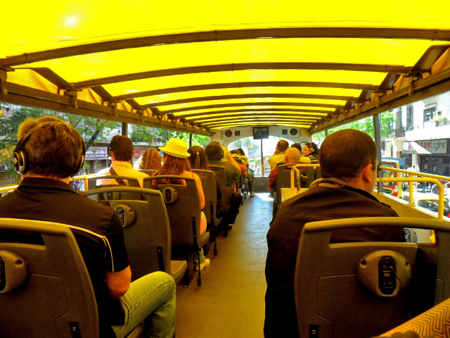 Buenos Aires Bus, interior