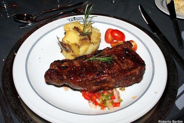 Bife de Chorizo, comidas típicas argentinas (Foto: Roberto Berlim)