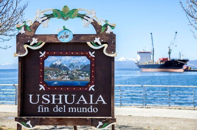 Resultado de imagem para fim do mundo ushuaia
