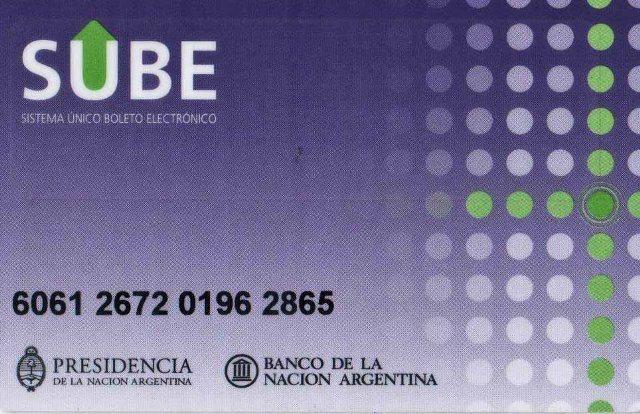 Perguntas mais frequentes sobre Buenos Aires, SUBE