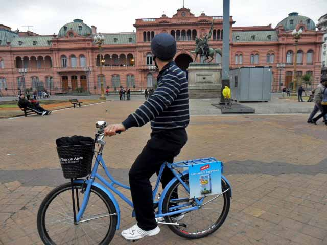 Biking Buenos Aires, Casa Rosada