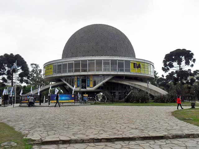O que fazer em Buenos Aires, Planetário Galileo Galilei