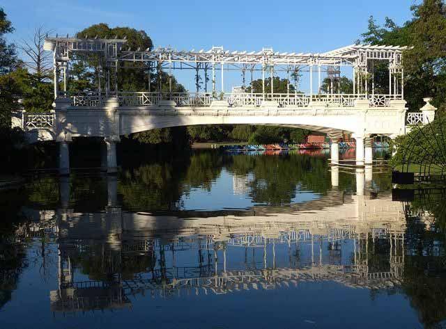 O Rosedal de Palermo, ponte