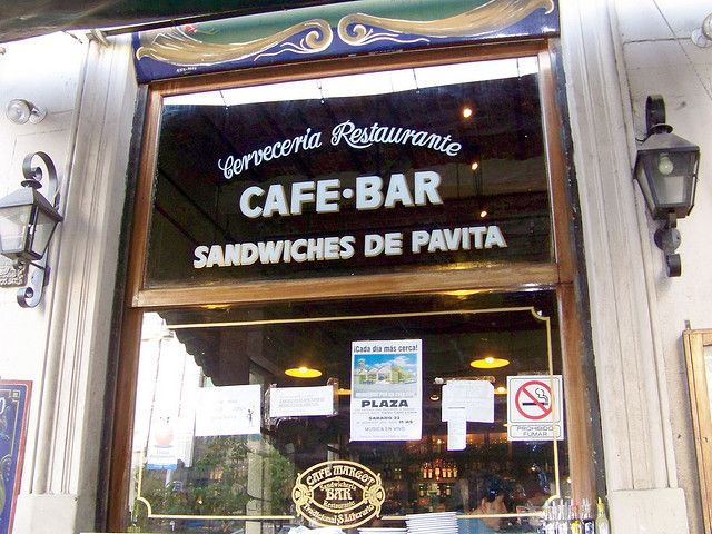 Bares notáveis de Buenos Aires, Café Margot (Foto: jglsongs)