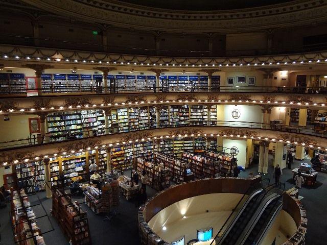 Passeios de graça em Buenos Aires, Livraria El Ateneo