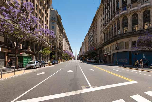 O verão em Buenos Aires, cidade vazia