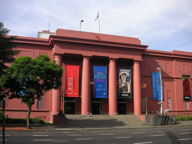 Três dias em Buenos Aires, Museu de Belas Artes (Foto: blmurch)