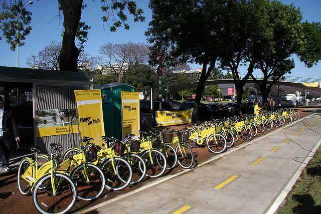 Três dias em Buenos Aires, bicicletas (Foto: Gobierno)