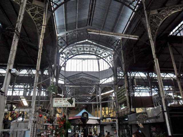 Três dias em Buenos Aires, Mercado de San Telmo