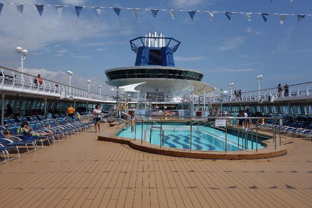 Cruzeiros, piscina