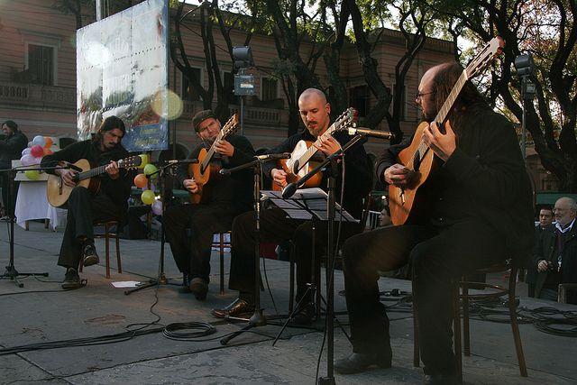 Feira de Mataderos, músicos (Foto: buenosairesprensa)