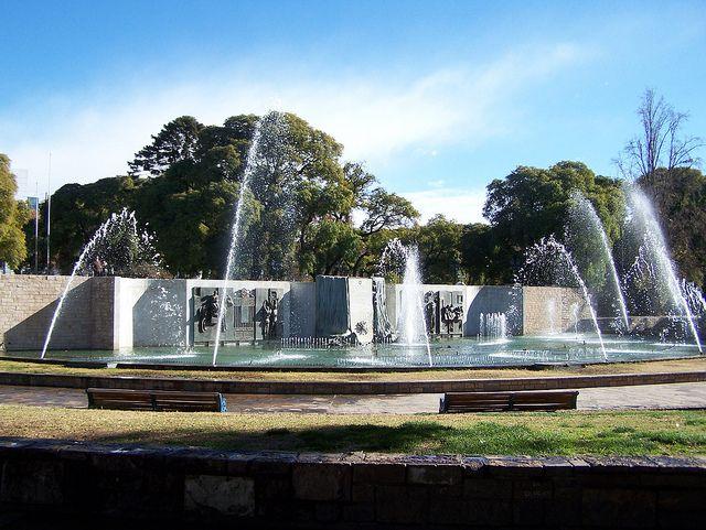 Plaza Independencia, Mendoza (Foto: Cornelius Klbelka)