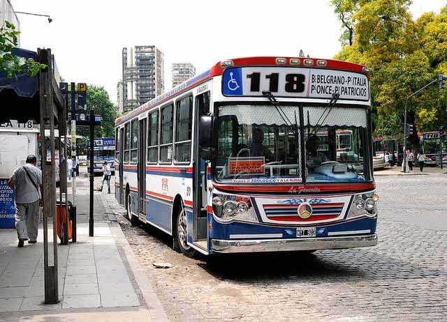 Os novos preços do transporte em Buenos Aires (Foto: Tim Adams)