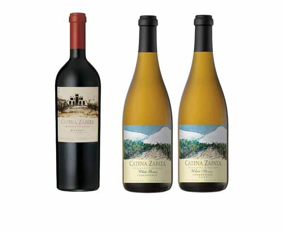 Os melhores vinhos argentinos, Catena Zapata