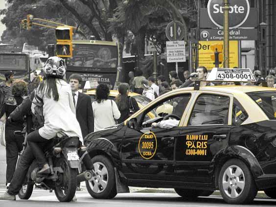 Os novos preços do transporte em Buenos Aires, táxi (Foto: nonuou)