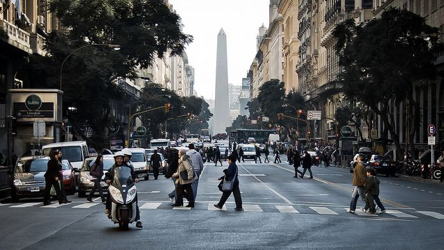 O clima de Buenos Aires, inverno (Foto: hernanpc)