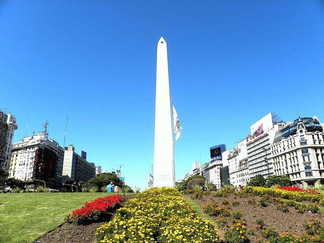 O clima de Buenos Aires, primavera (Foto: cyroasilva)