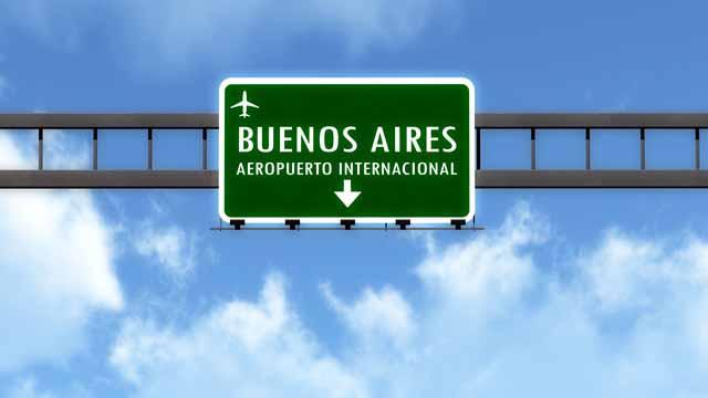 Documentos para viajar à Argentina, Ezeiza