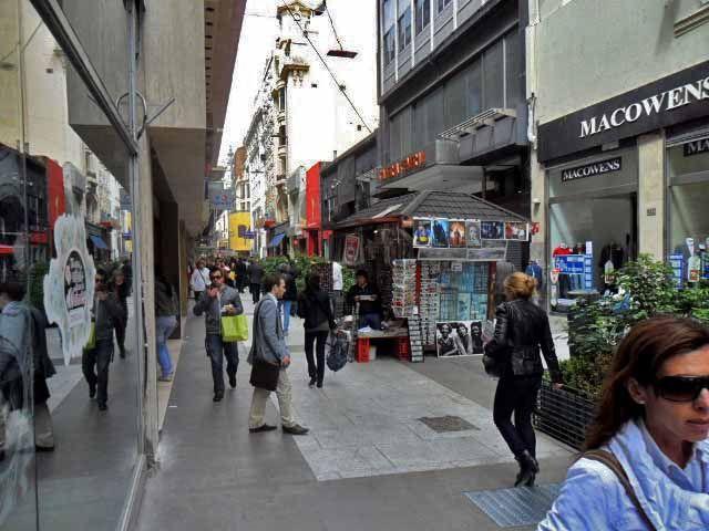 Segurança em Buenos Aires, calle Florida