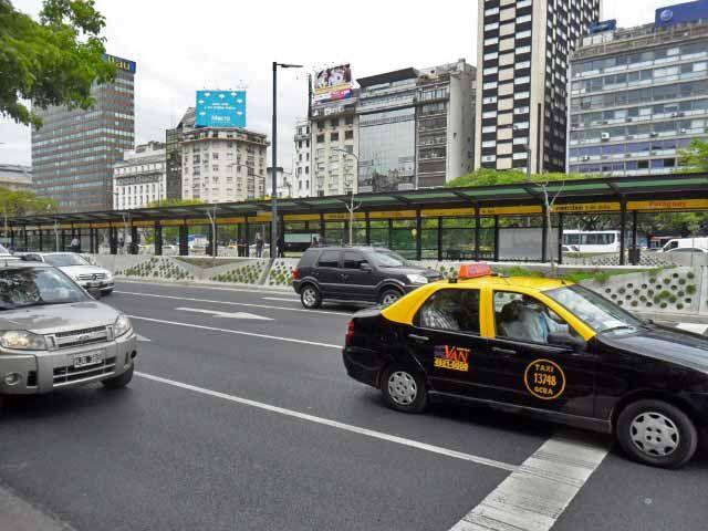 Segurança em Buenos Aires, táxis