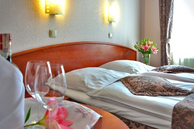 Hotéis em San Telmo, quarto de hotel