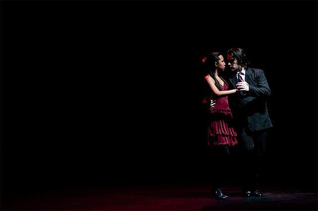 Réveillon 2017 em Buenos Aires, shows de tango (Foto: Fabrício Vianna)