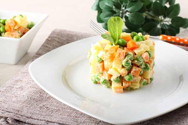 O que comer na Argentina no final do ano, salada russa