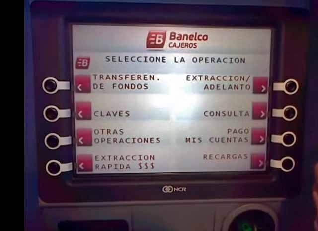 Como sacar dinheiro de um caixa eletrônico em Buenos Aires