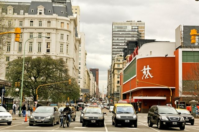 Ir a Buenos Aires de carro, centro