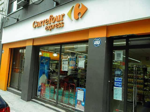Ficar num hotel ou alugar um apartamento em Buenos Aires, Carrefour