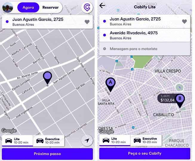 Uber, Cabify 3