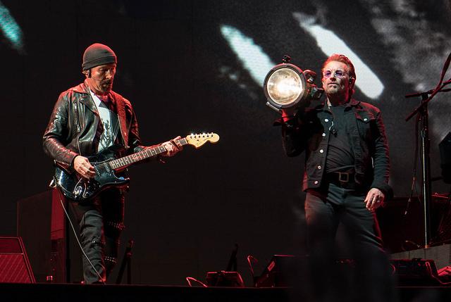 Bono & The Edge, U2 em Buenos Aires (Foto: U2start)