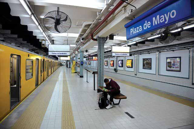 O que fazer em Puerto Madero, metrô linha A (Foto: Gobierno de la Ciudad Autónoma de Buenos Aires)