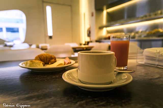 Dazzler Recoleta, café da manhã